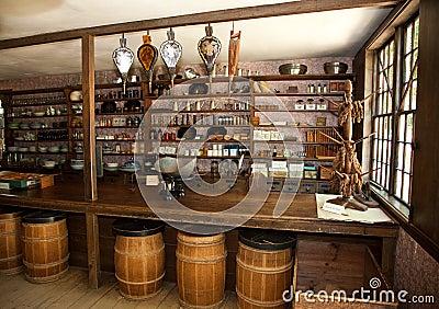 Vintage Dry Goods Store