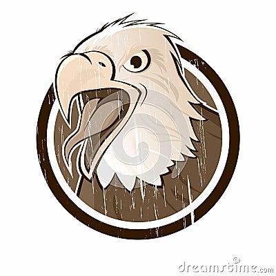 Vintage eagle sign