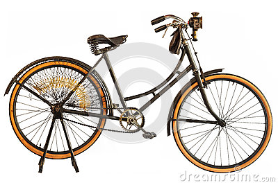 Vintage early twentieth century bicycle
