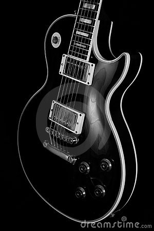 Free Vintage Electric Guitar Body Stock Photos - 14545483