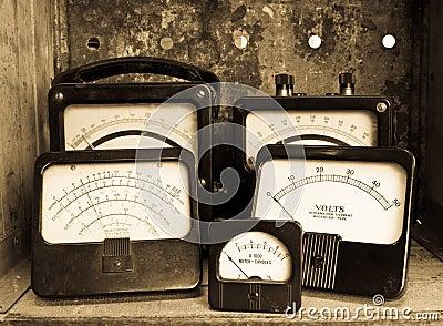 Vintage Electric Meters