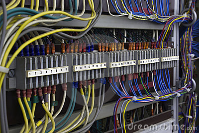 Vintage electrical wiring