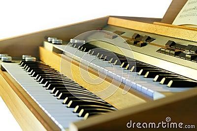 Vintage electronic organ