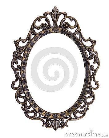 Vintage elliptical frame
