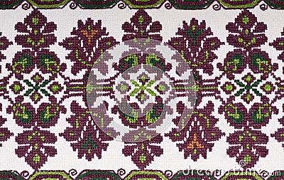 Vintage Embroidery Textile Design