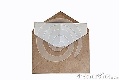A vintage envelope