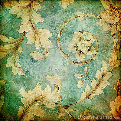 Free Vintage Fabrics Stock Photography - 9323322