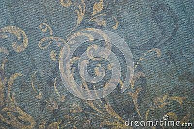 Vintage Faded Floral Background