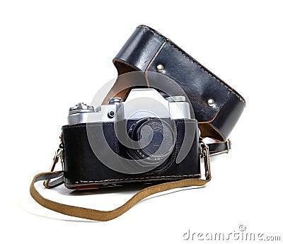 Vintage film photo-camera