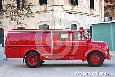 Vintage Firemen truck