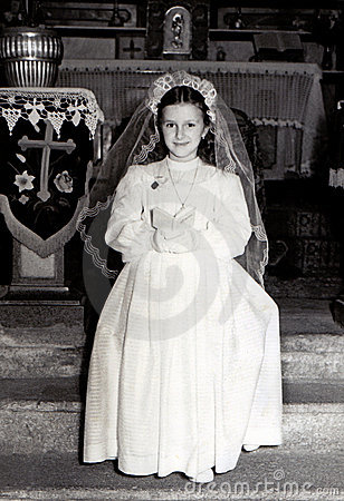 Vintage First Communion