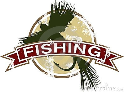 Vintage Fishing Icon
