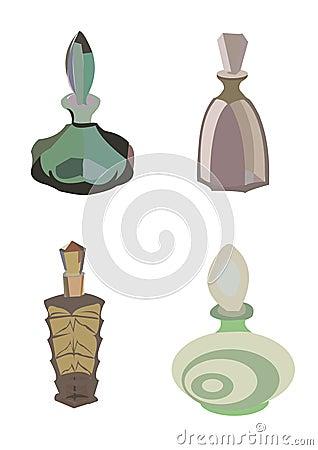 Vintage flacons