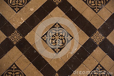 Vintage Floor Tiles Stock Photo Image 50318153