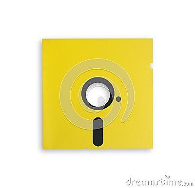 Vintage floppy disk.