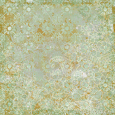 Free Vintage Floral Antique Background Theme Royalty Free Stock Image - 7293546