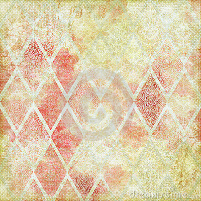 Free Vintage Floral Antique Background Theme Stock Images - 8543504