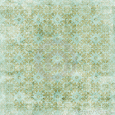 Free Vintage Floral Background Christmas Theme Stock Photography - 7276762