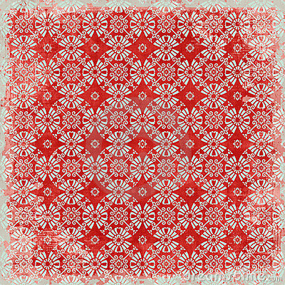 Vintage floral background christmas theme