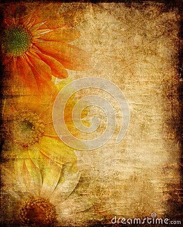 Free Vintage Floral Border Stock Images - 7006604