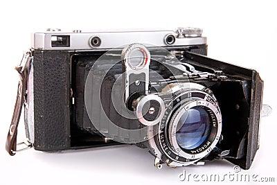 Vintage folding photocamera