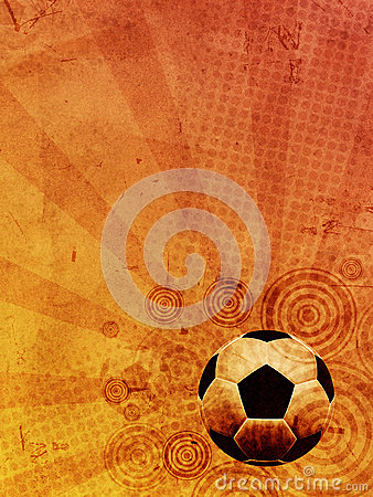 Vintage football background