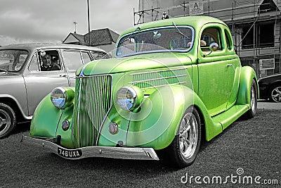 Vintage ford custom car Editorial Photo