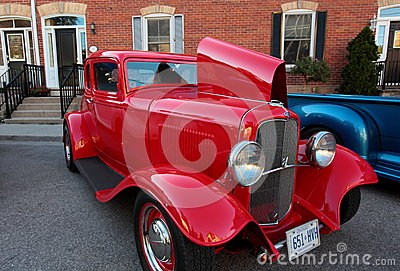 Vintage ford hot rod Editorial Photography