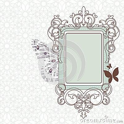 Free Vintage Frame Royalty Free Stock Photo - 16069625