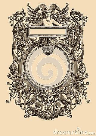 Free Vintage Frame 21 Stock Photo - 8523280