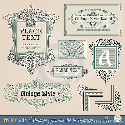 Free Vintage Frame Royalty Free Stock Images - 22954519