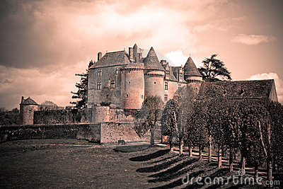 Vintage French Castle