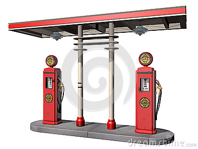 Vintage Gas Pumps