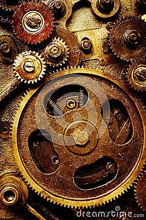 Vintage gears mechanism