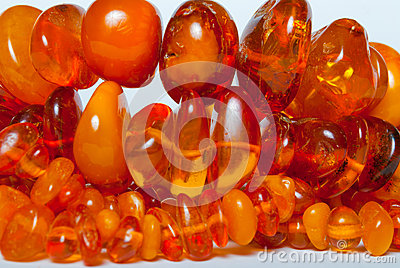 Vintage genuine Baltic amber beads