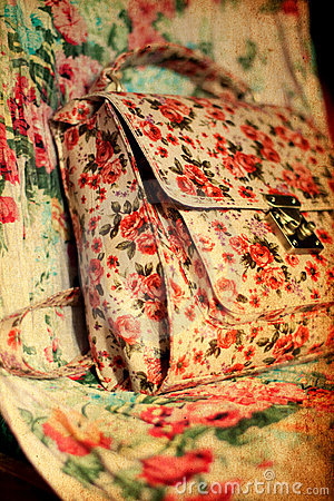 Vintage girly background