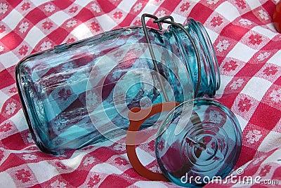 Vintage Glass Canning Jar