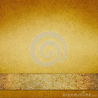 Free Vintage Gold Background With Brown Gold Ribbon Stock Photo - 39037970