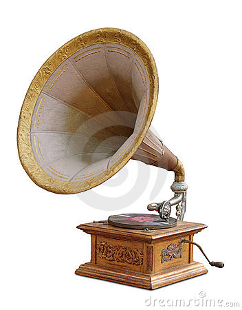 Free Vintage Gramophone Stock Photography - 10284862