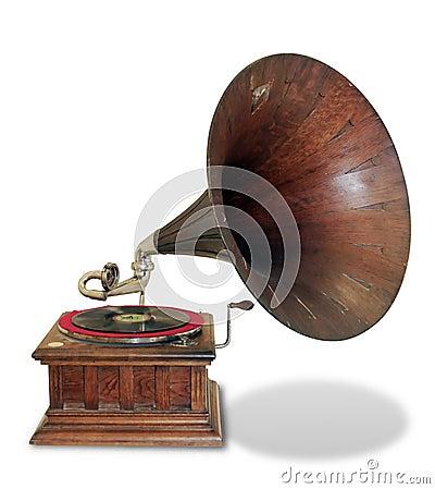 Free Vintage Gramophone Royalty Free Stock Image - 3485566