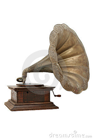 Free Vintage Gramophone Royalty Free Stock Images - 3866359