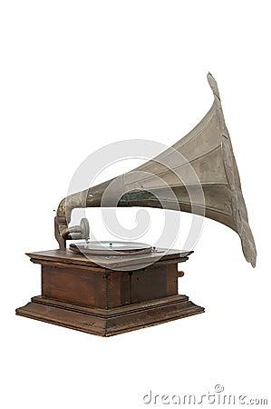 Free Vintage Gramophone Stock Photo - 3876230