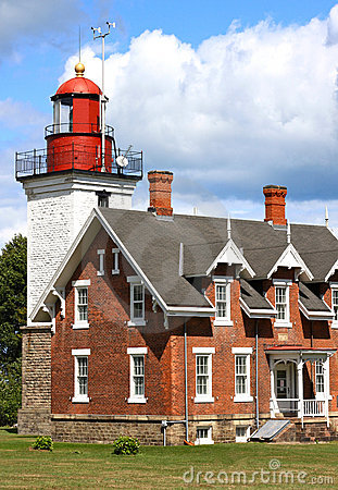 Vintage Great Lakes Lighthouse