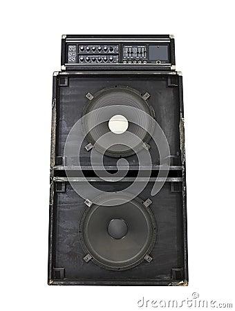 Vintage Grunge 800 Watt Bass Amp