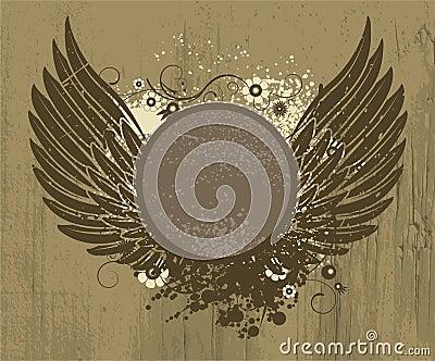 Vintage grunge emblem