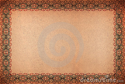 Vintage grungy parchment paper for backgrounds or