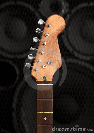 Free Vintage Guitar Neck Stock Images - 7683264