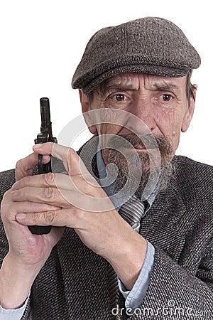 Vintage gunman