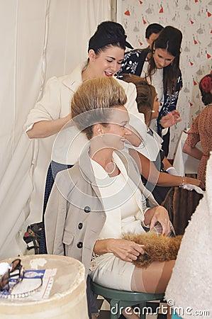 Vintage Hair and Beauty Salon Editorial Photo
