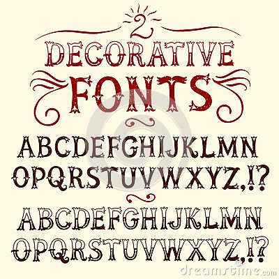 Writing stylish fonts